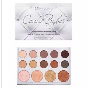 NWOT bhcosmetics Carli Bybel Palette 1st ed.